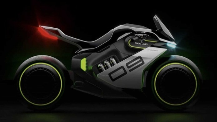 Segway-Ninebot presents the first hydrogen electric motorcycle!