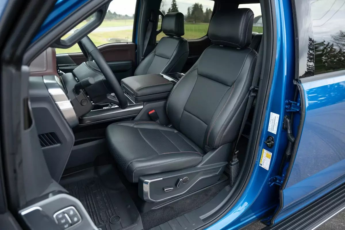 The interior is completely redesigned to elevate truck owners'. 2021 Ford F 150 Specs Price Mpg Reviews Cars Com