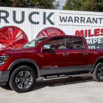 All The Pickup Truck News 2020 Nissan Titan In Texas Ford Takes Towing Title Chevy And Ram Black Out And More News Cars Com