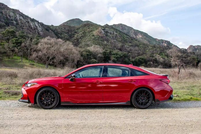 2020 Toyota Avalon Trd This Is A Thing News Cars Com