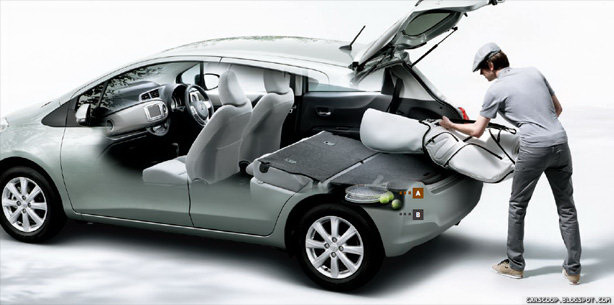 New 2012 Toyota Yaris Vitz Breaks Cover In Japan Photos