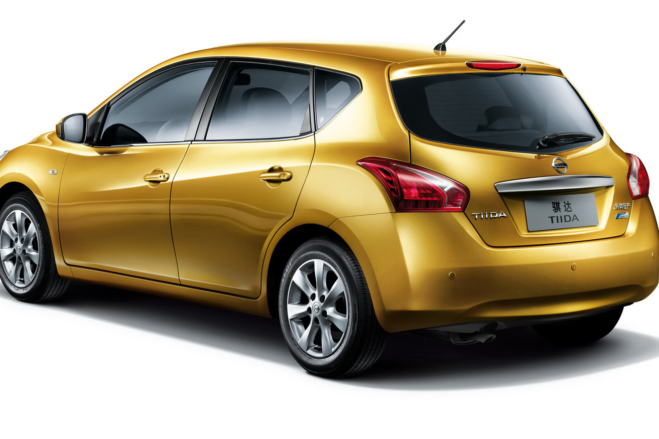 All New Nissan Tiida Unveiled At Shanghai Auto Show