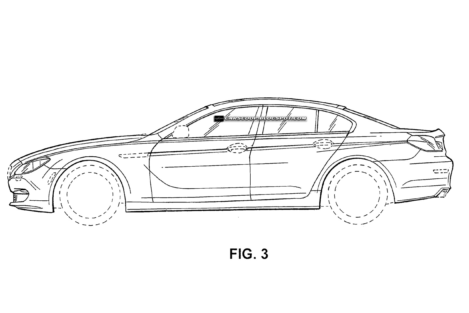 Official Patent Designs Of Bmw S New Four Door Sports