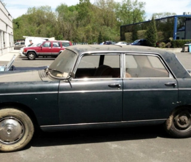 Ebay Find Peugeot 404 Up For Sale After Sitting For More Than 25 Years