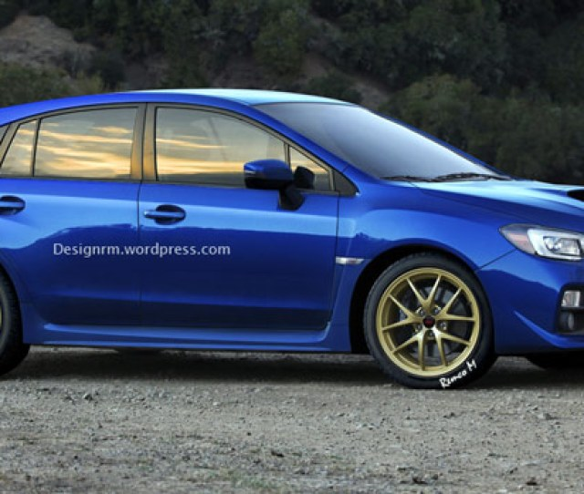 New  Subaru Wrx Sti Illustrated As A Five Door Hot Hatch