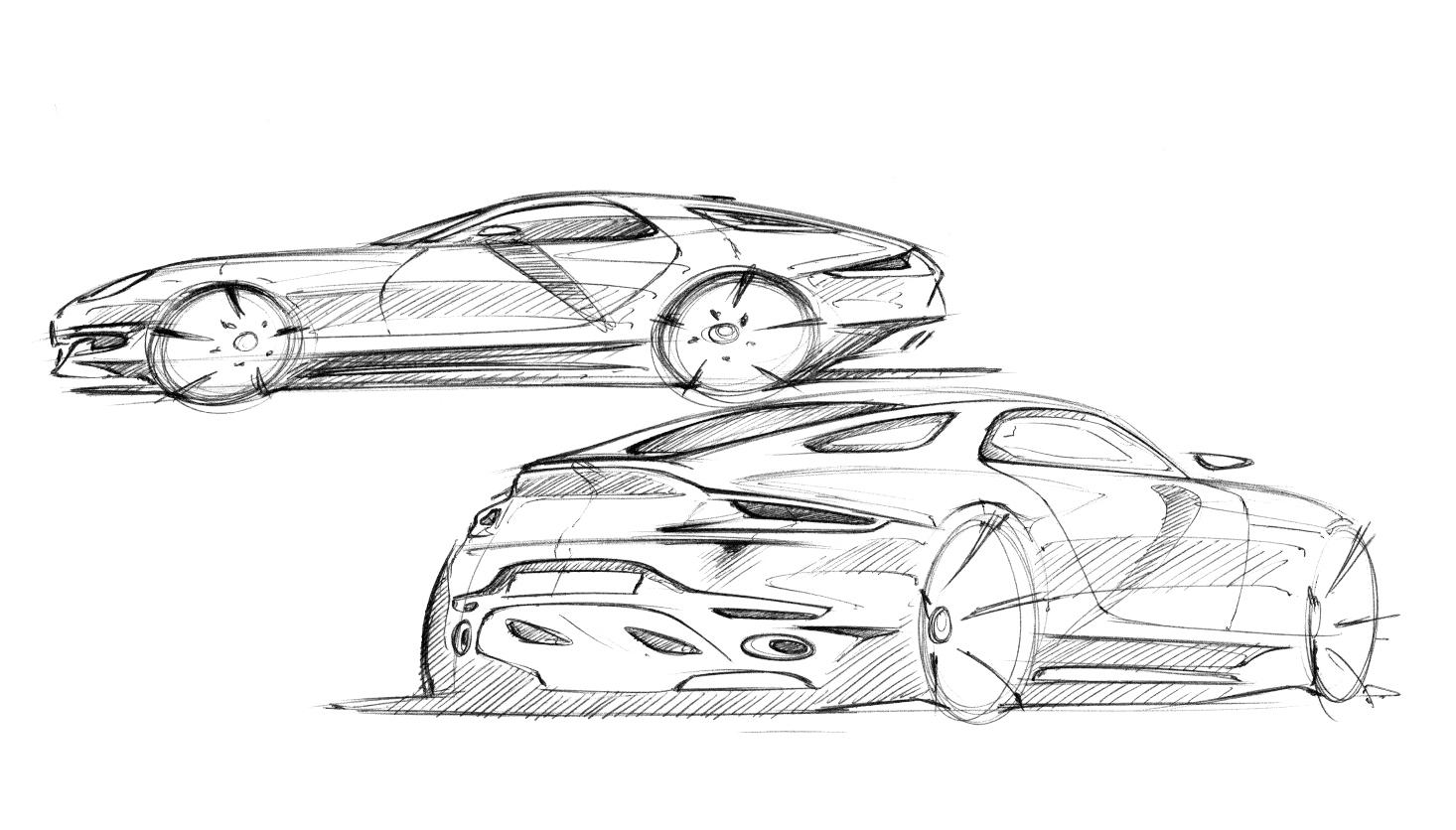 Porsche 921 Vision Is A Design Concept For A Modern 928 Gt