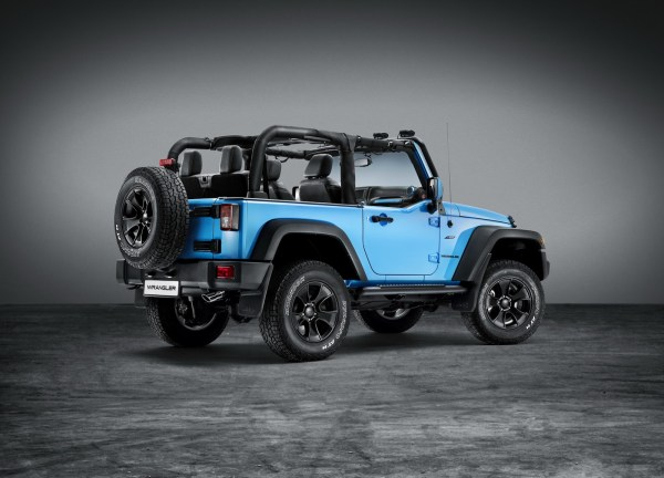 Jeep Shows Off Wrangler Rubicon With Mopar One Package ...