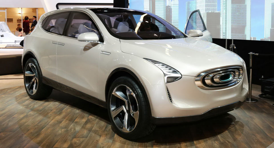 Thunder Power SUV Concept Walks Line Between Novelty And