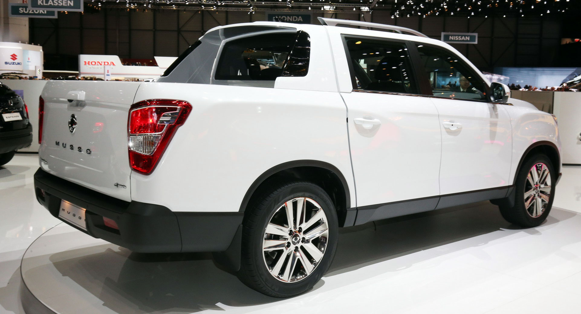 2019 SsangYong Musso Wants To Be Europes Honda Ridgeline