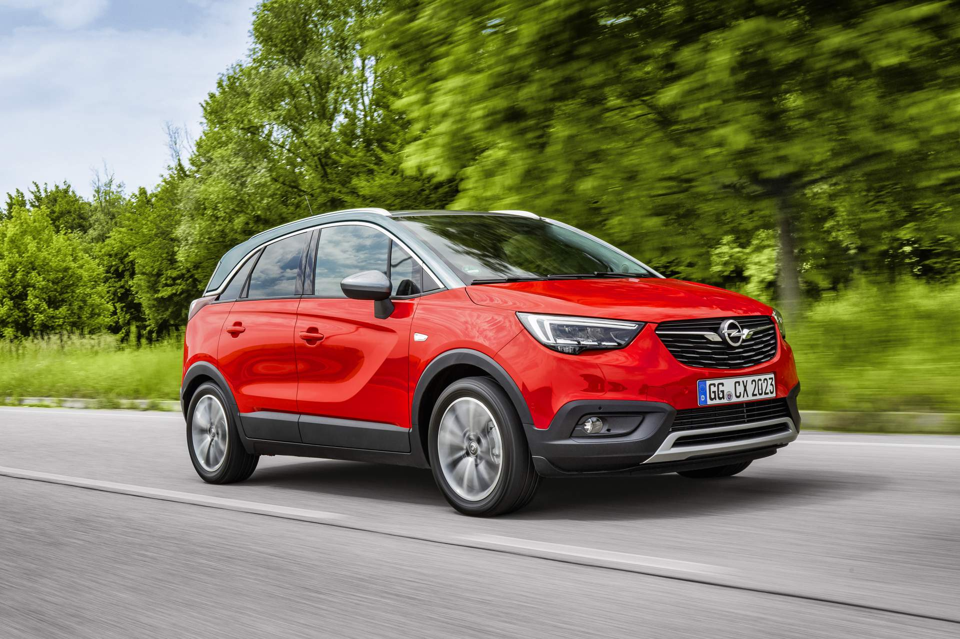 Opel Updates Crossland X With New 120ps Diesel Leather Seats Car