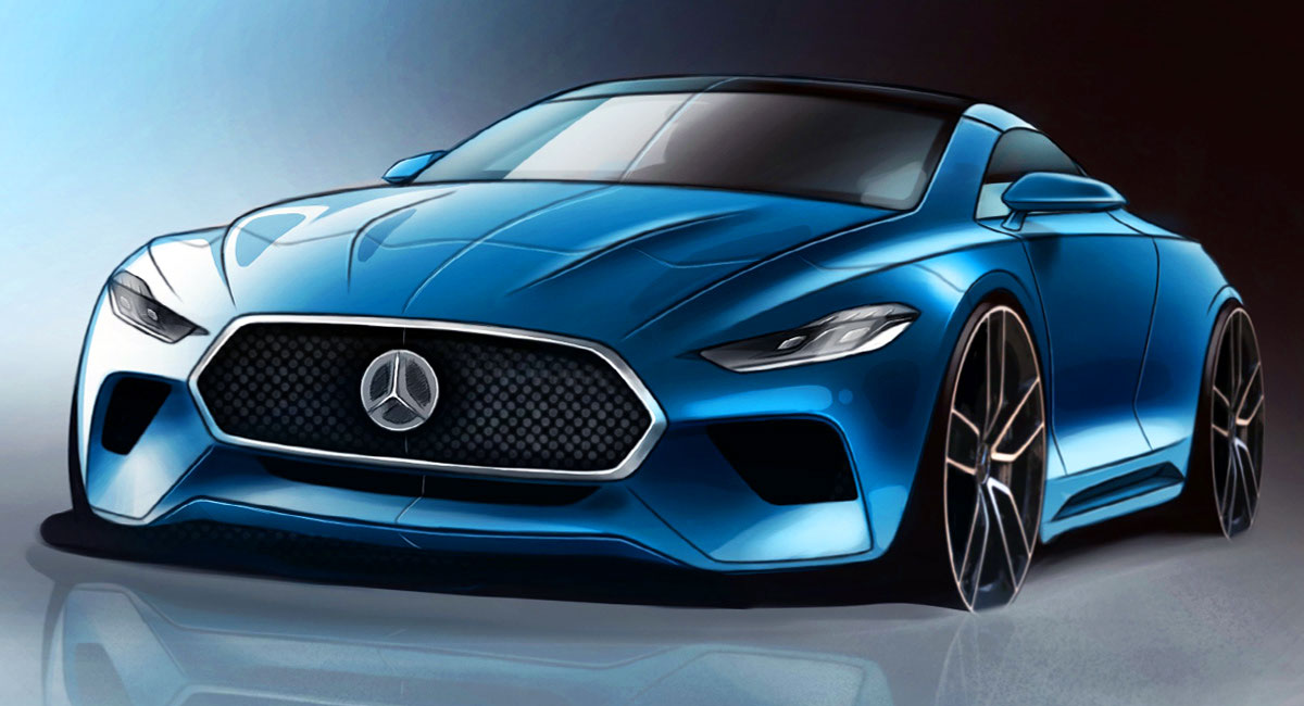 All New Mercedes Benz SL To Bow In 2020 Go Hybrid With