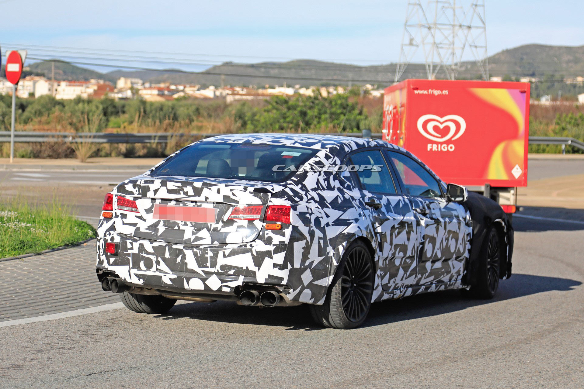 2020 Acura Tlx Type S Spotted Testing Against S4 Amg C43 Could Get