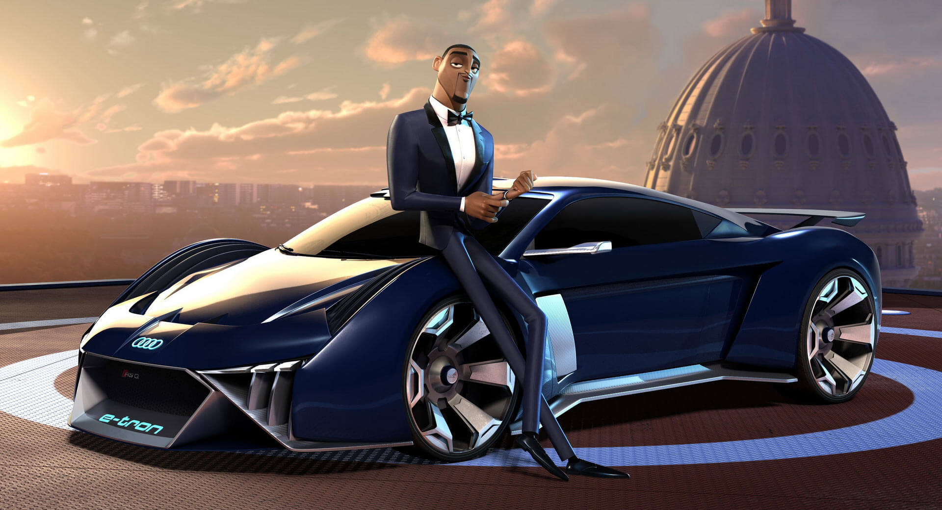 Audi Rsq E Tron Was Designed For Will Smith In Spies In