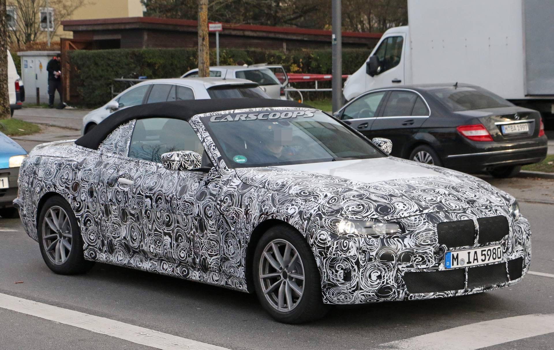 2020 Bmw 4 Series Reveals Its New 3 Series Sourced Interior