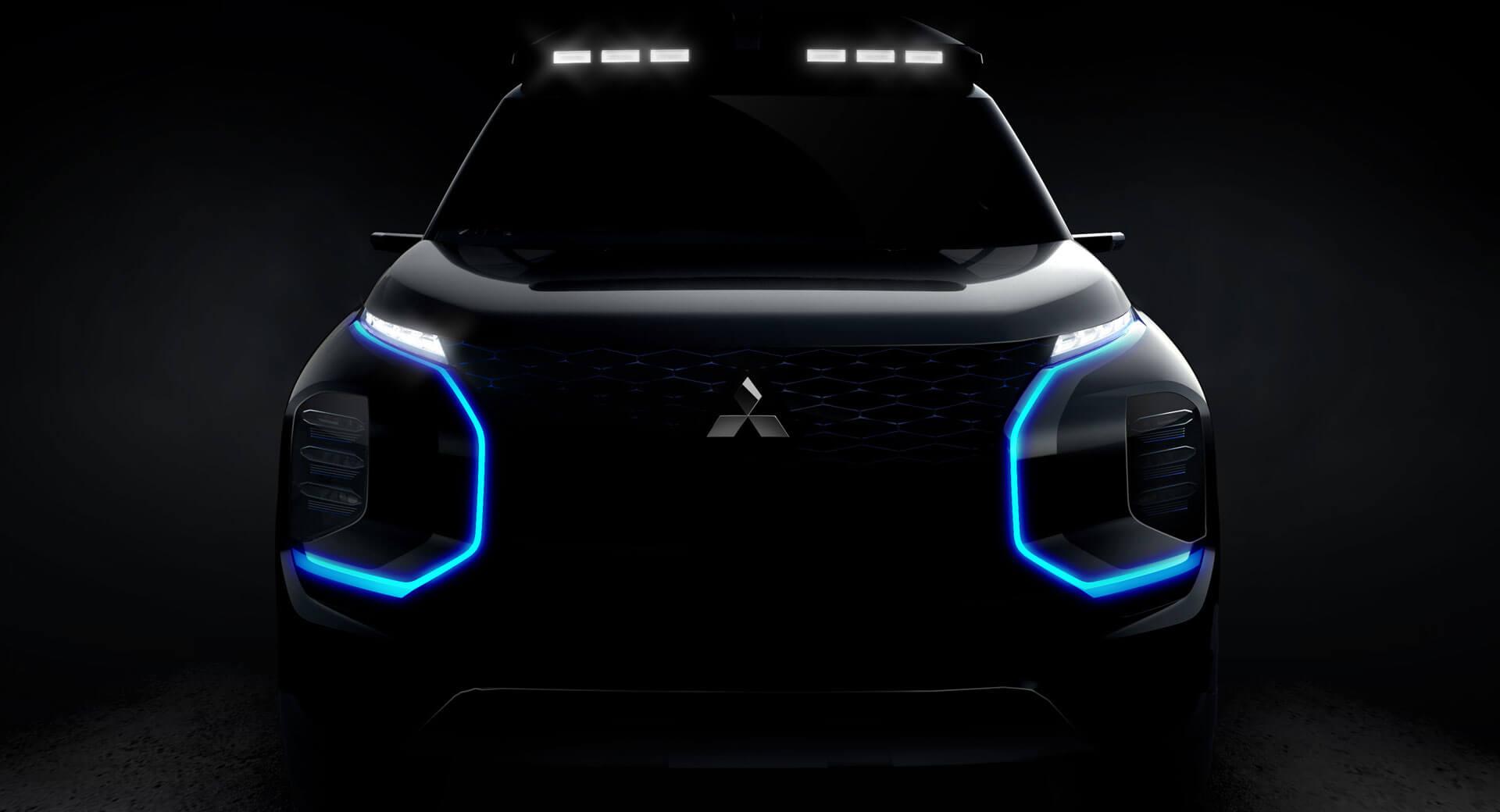 Mitsubishi Engelberg Tourer Suv Concept Teased Will