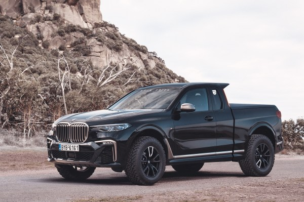 BMW Could Have Made The X7 Pickup Much More Rugged - Like ...
