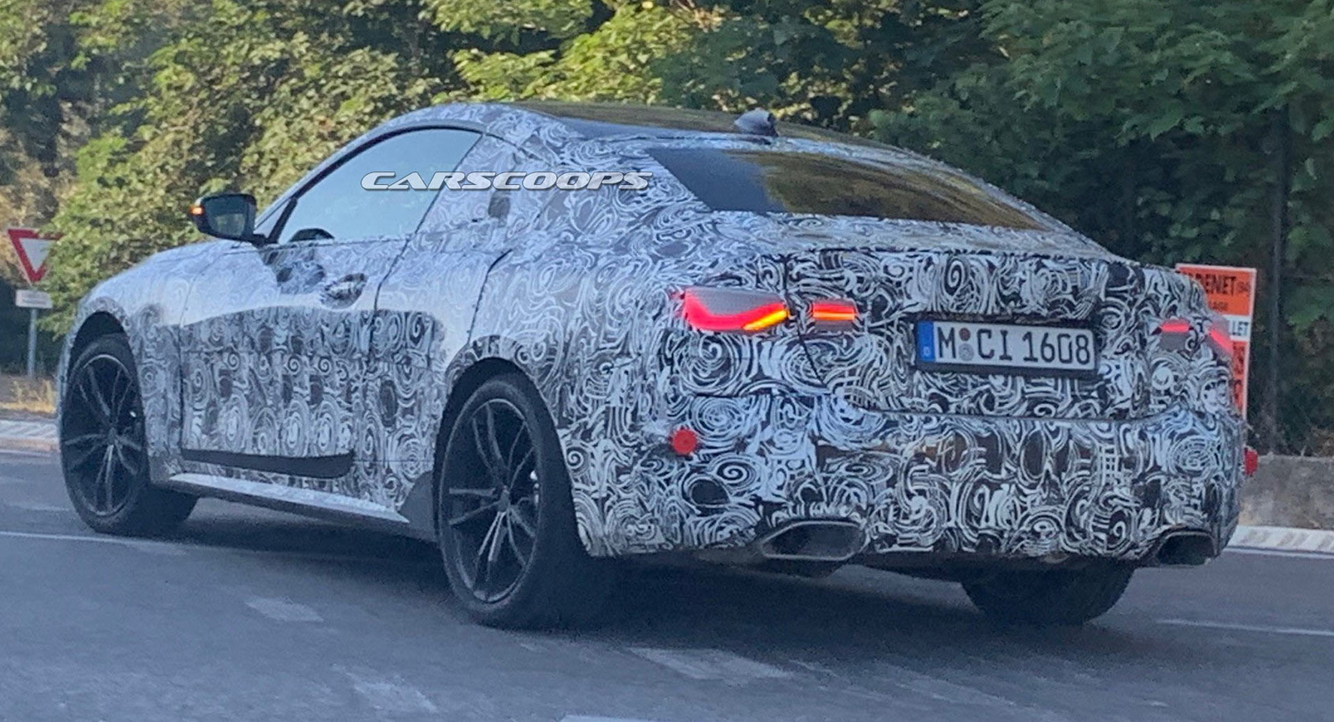 2021 Bmw M440i Spotted Should Pack 382 Hp Carscoops