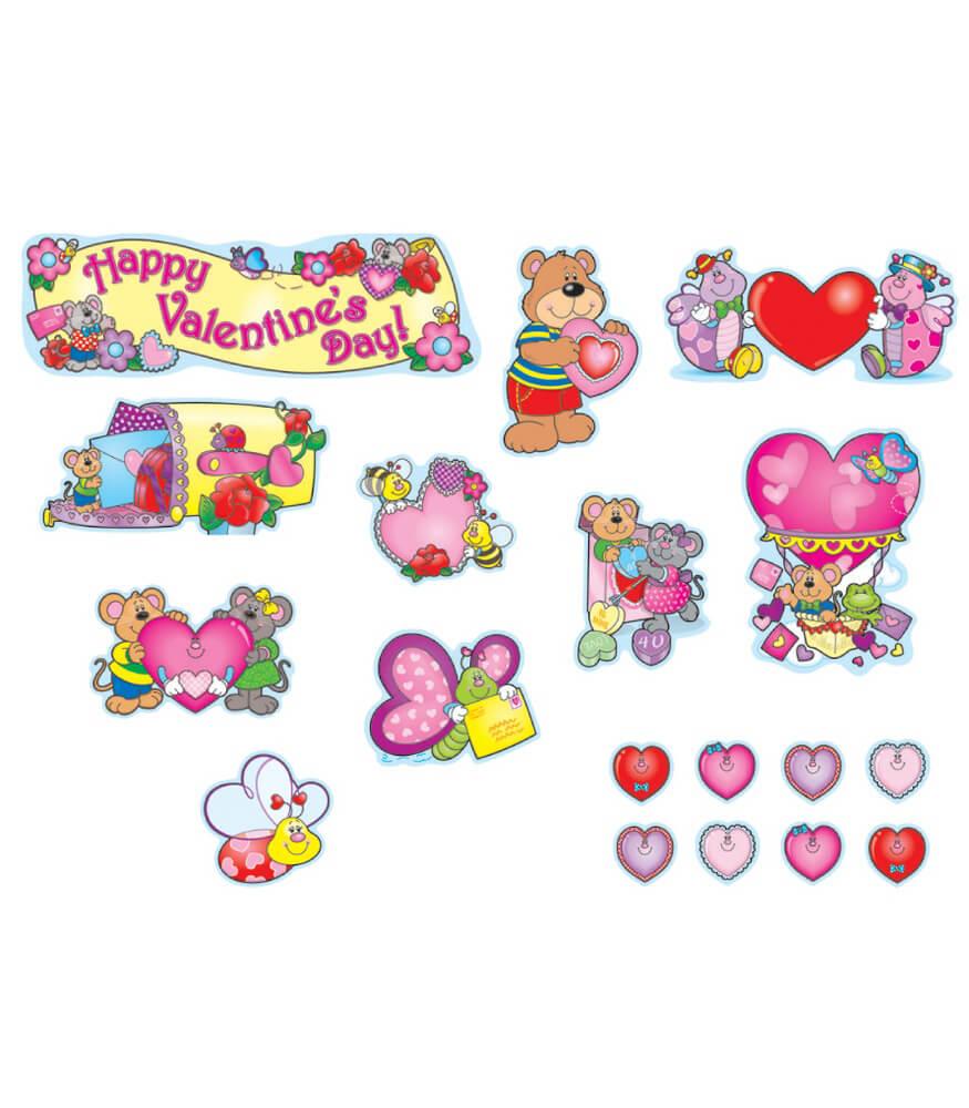 Valentines Day Mini Bulletin Board Set Grade PK 5