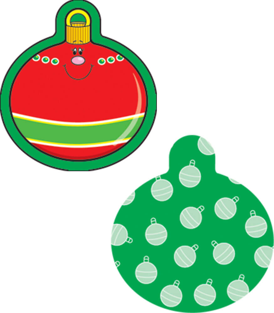 Christmas Ornaments Mini Cut Outs Grade PK 8 Carson