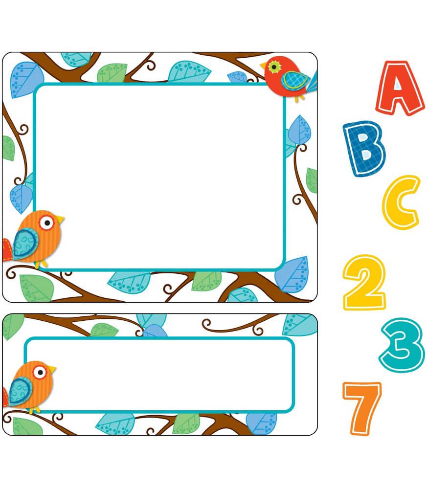 Boho Birds Variety Sticker Pack Grade PK 8 Carson
