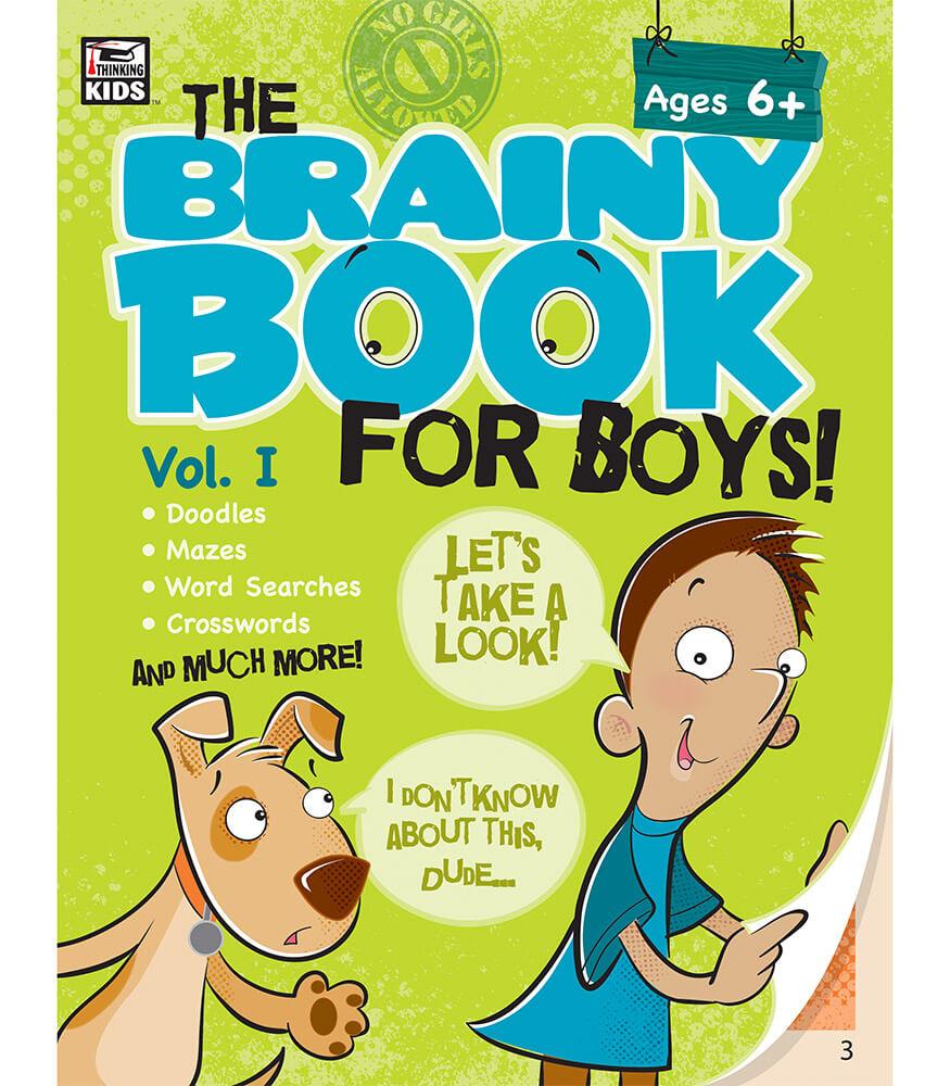 Brainy Book For Boys Volume 1 Activity Book Grade 1 4