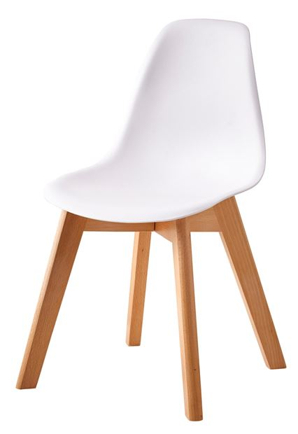 mathias chaise pour enfants blanc naturel h 58 x larg 34 x p 30 cm