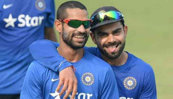 Image result for virat kohli and shikhar