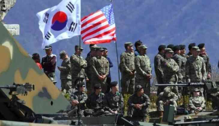 Image result for images of U.S & South Korea joint military drill