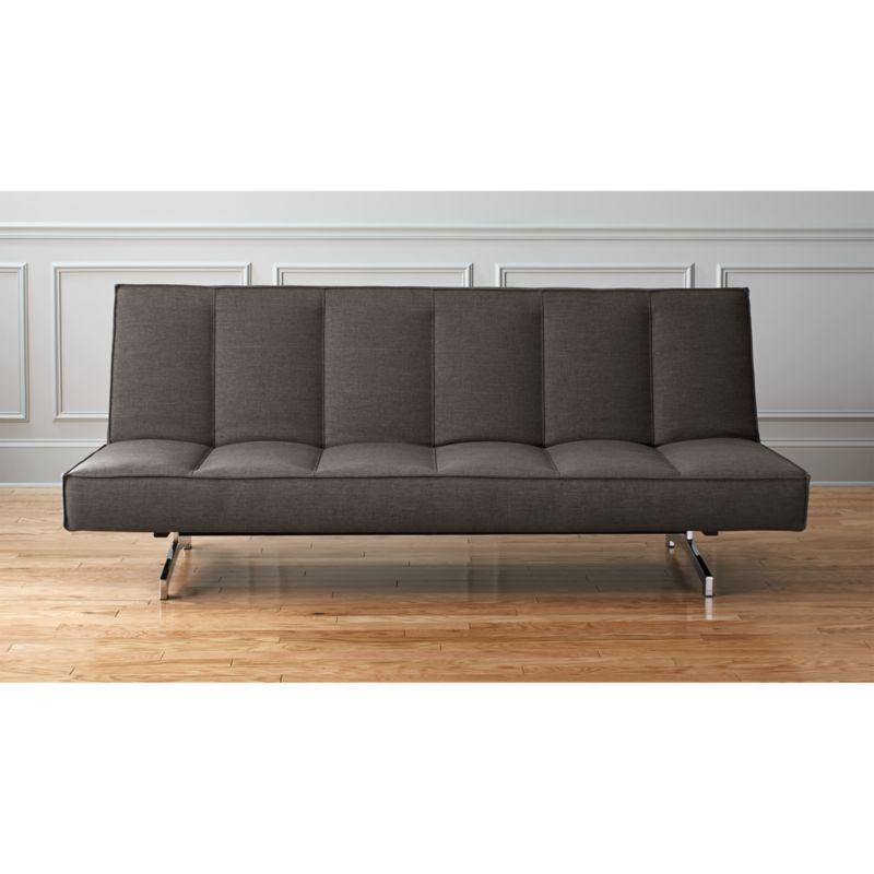 Flex Grey Queen Sleeper Sofa Reviews Cb2