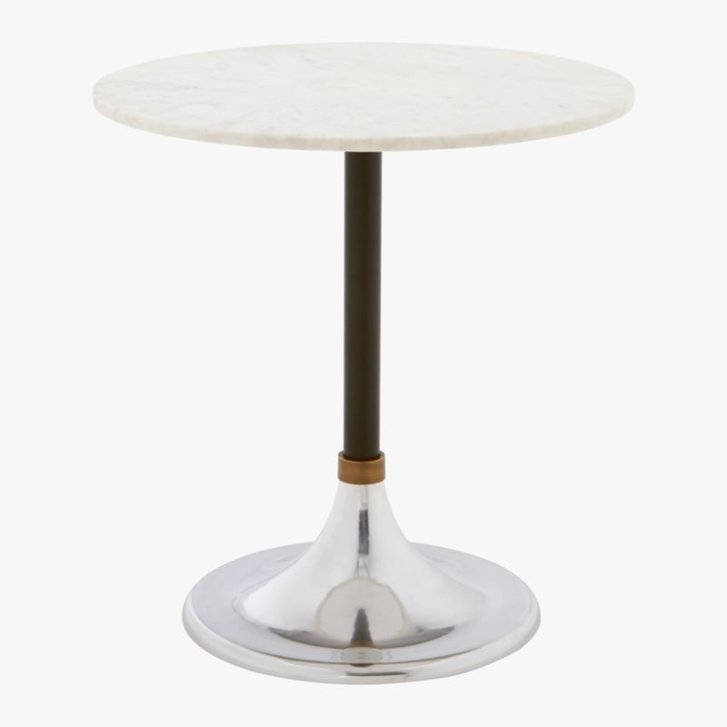 Hackney Marble Cocktail Table CB2