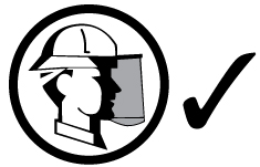 Correct application of reversed hard hat