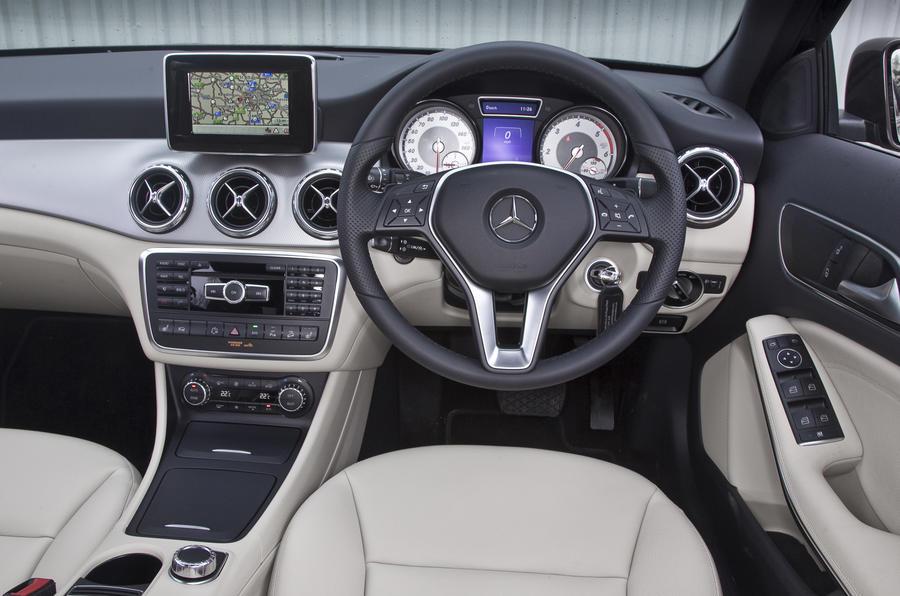Mercedes Benz GLA Interior Autocar