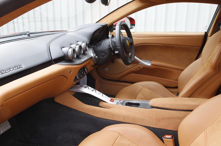 Ferrari F12 Berlinetta Interior Autocar