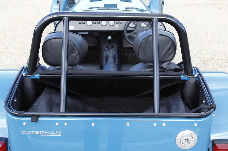 Caterham Seven 160 Interior Autocar