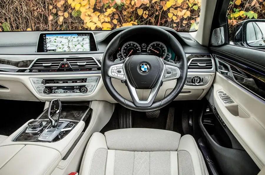 BMW 7 Series Interior Autocar