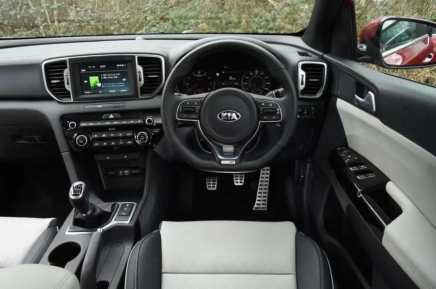 2016 Kia Sportage 16 T GDi GT Line UK Review Review Autocar