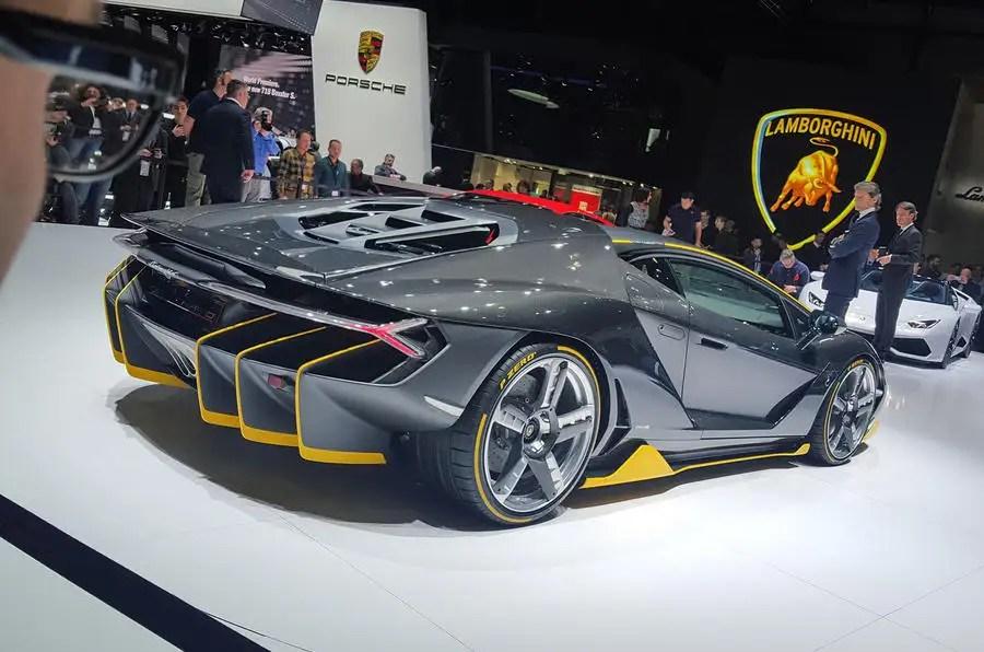 Lamborghini Centenario 759bhp V12 Supercar Shown On