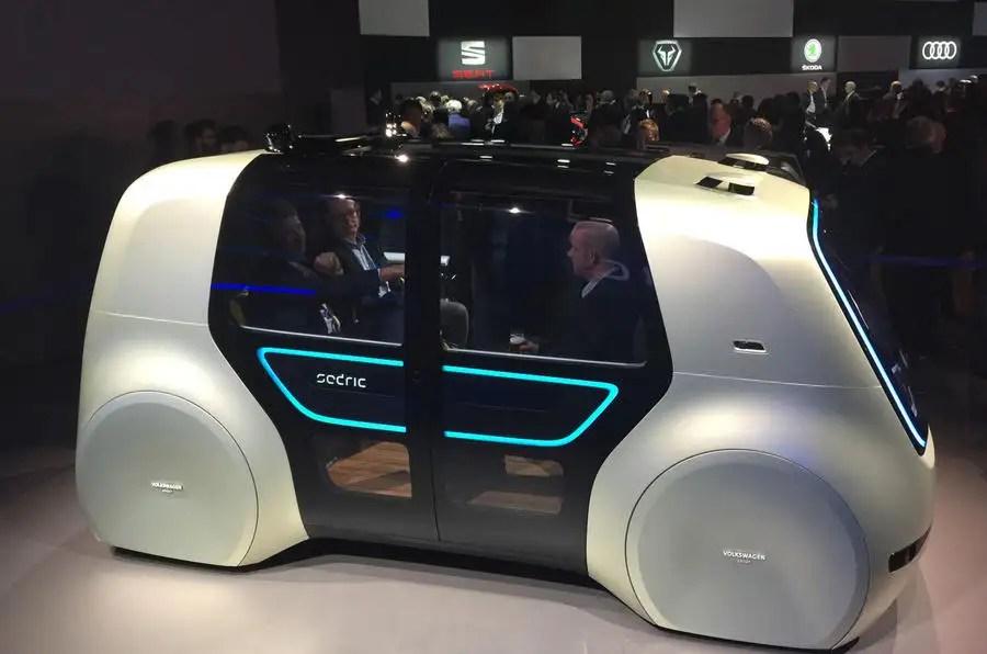 Volkswagen Sedric Concept Previews Self Driving Pod Like