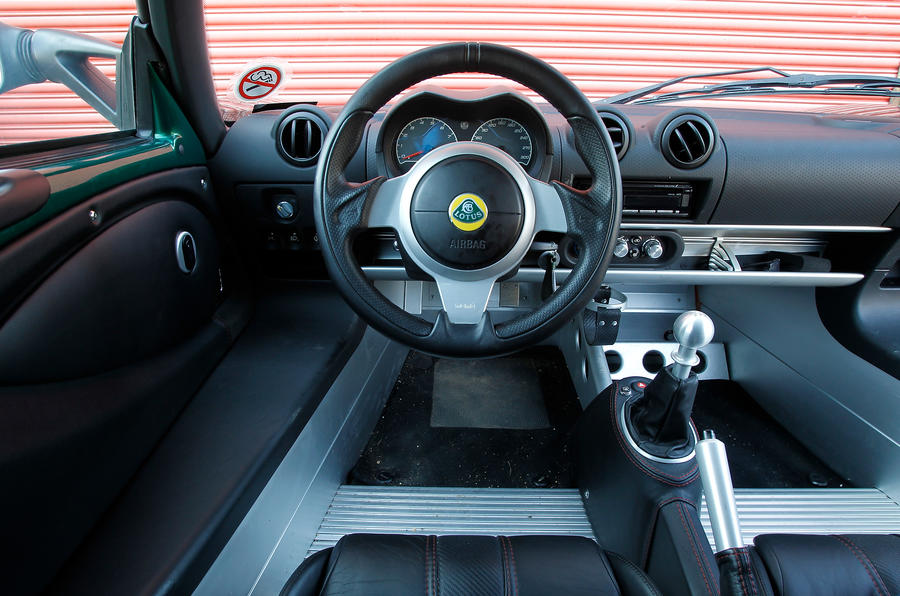 Lotus Exige Interior Autocar