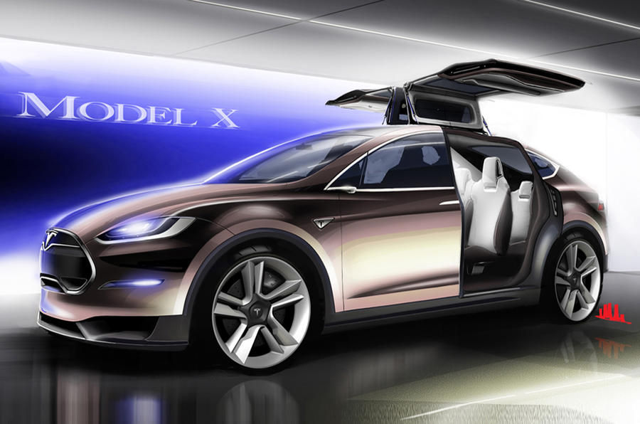 Tesla Model X 60D dropped | Autocar