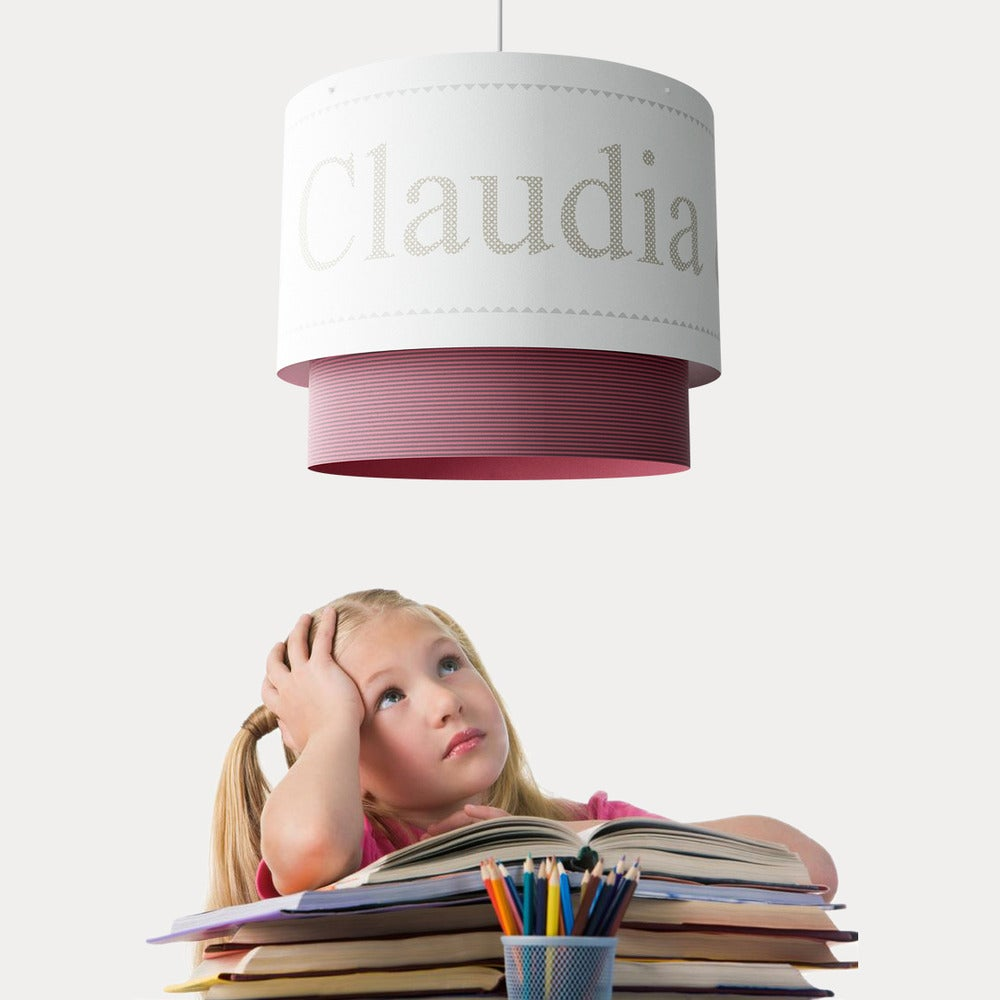 And lamp shades do make a difference to a nursery or kids room