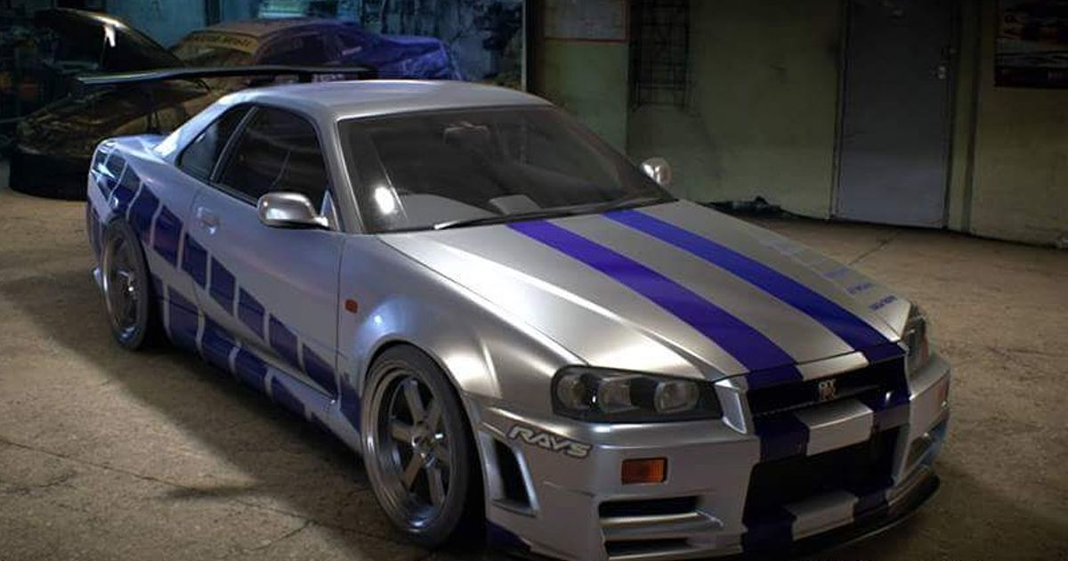 Fast And Furious 1 Supra