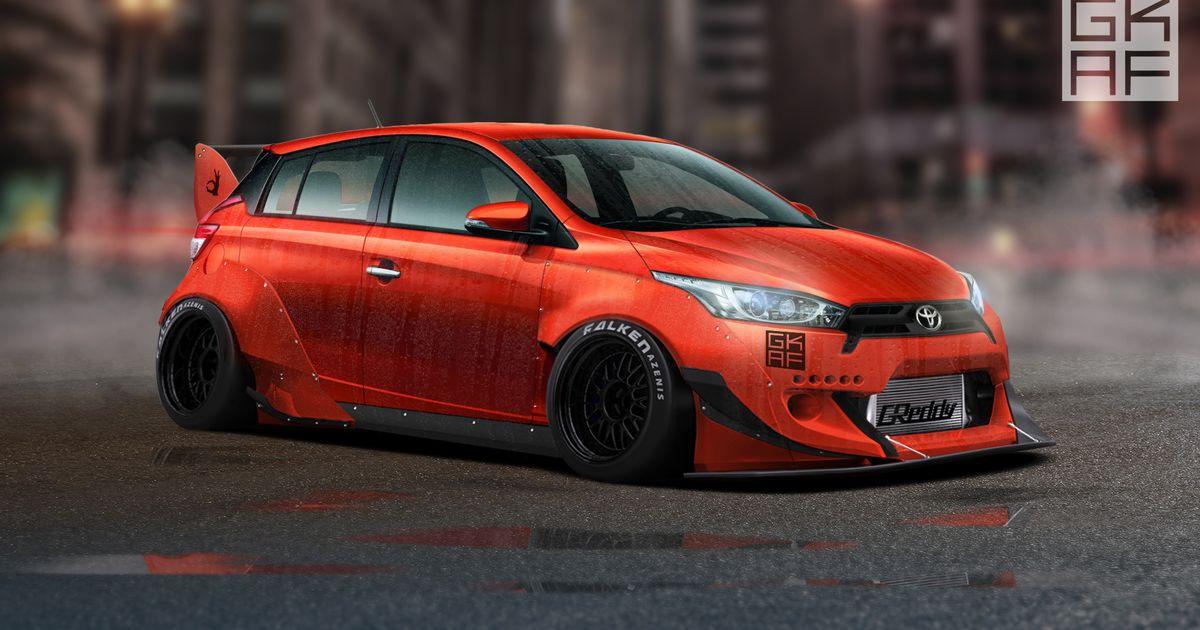 Yaris 2017 Toyota Kit Body