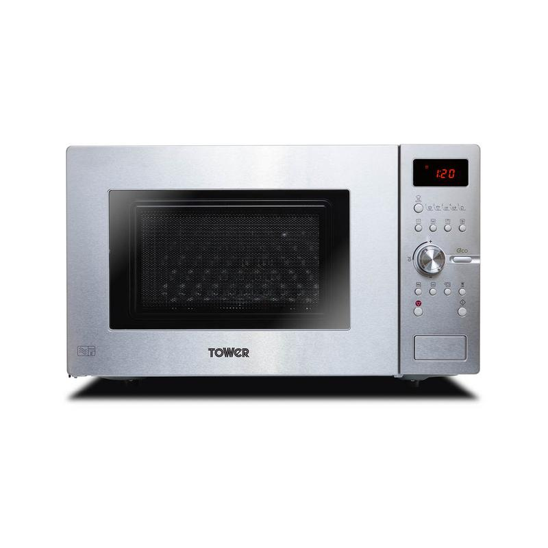 28l easy steam cleaning combo oven with grill 900w stainless steel
