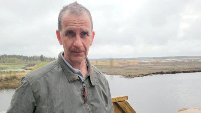 Specialforskare Hans-Göran Lax på NTM-centralen.