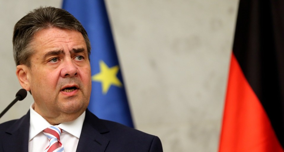 Saksan ulkoministeri Sigmar Gabriel.