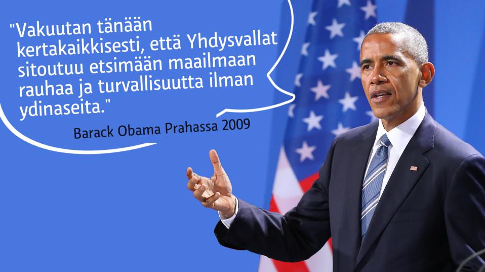 Obaman sitaatti.