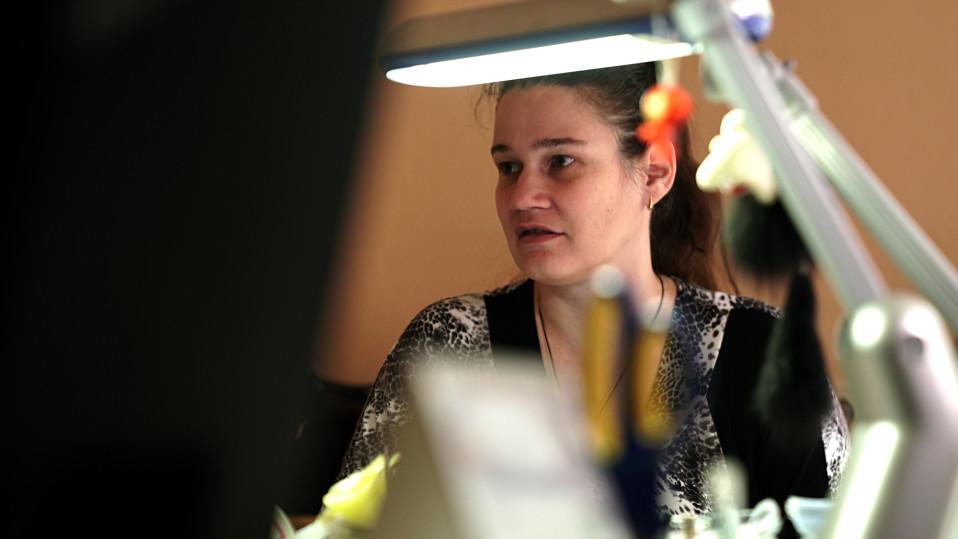 Sosiaalityöntekijä Svetlana Matrosov