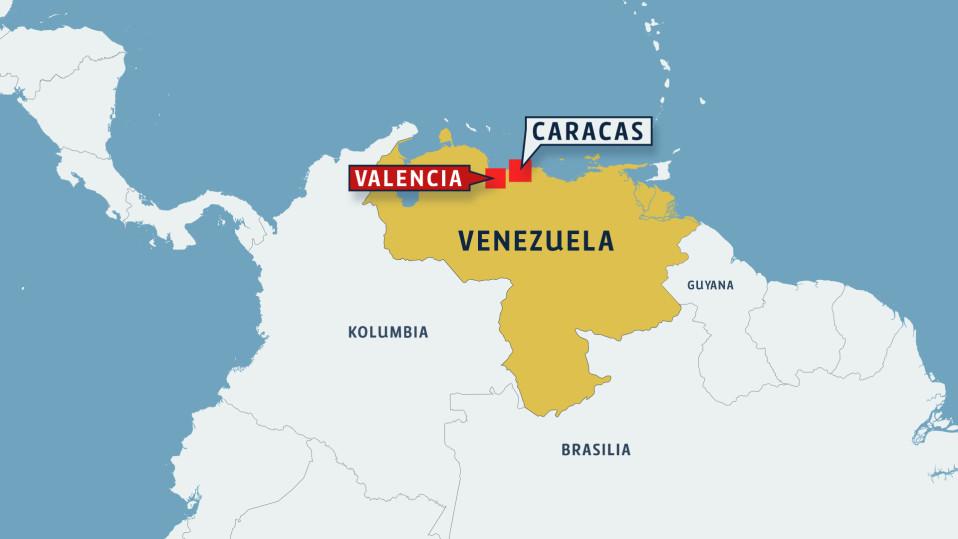 Vezuelan kartta