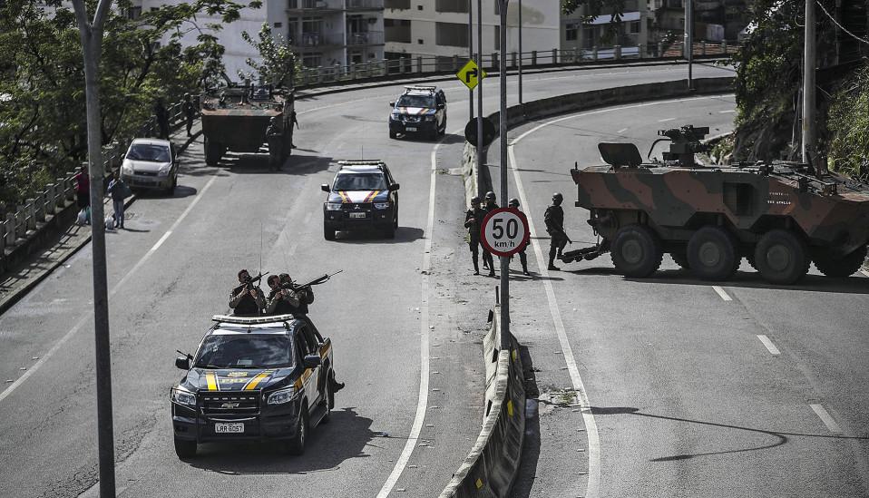 Brasilian poliisi teki iskun favelaan järjestäytyneen rikollisuuden kitkemiseksi Rio de Janeirossa 5. elokuuta.